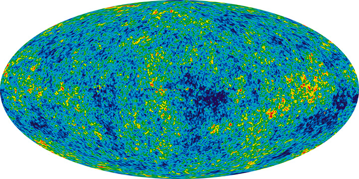 A Deeper Look at the Bible and the Big Bang - 9 Year Microwave Sky
